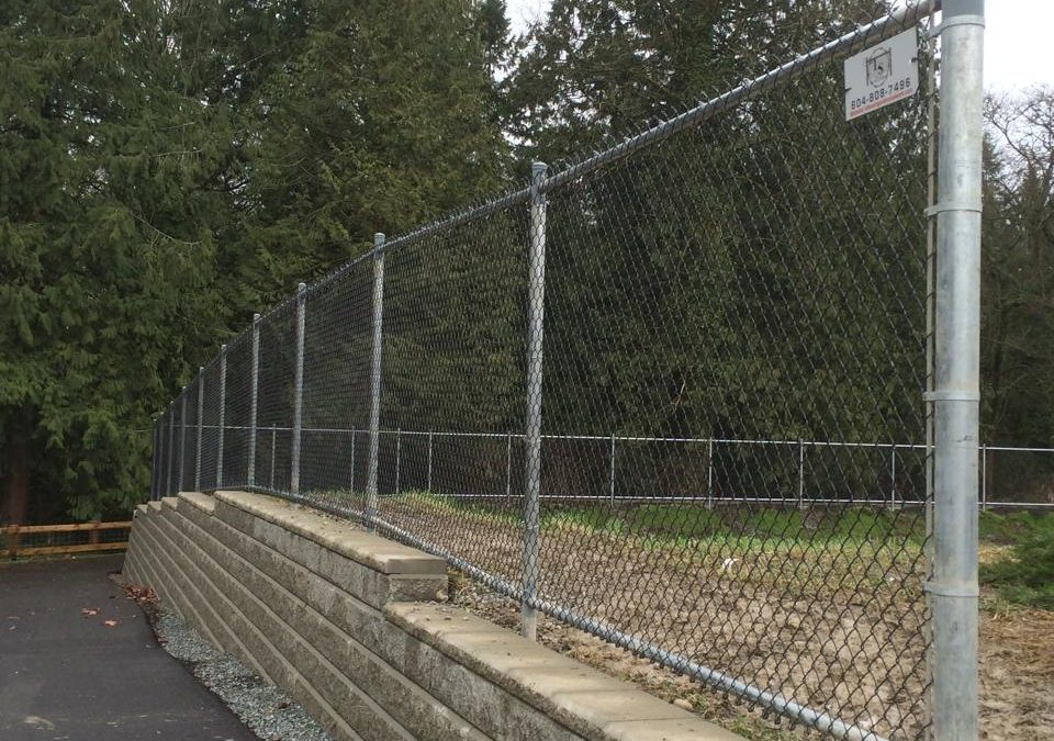 6ft chainlink fence black with galvanized