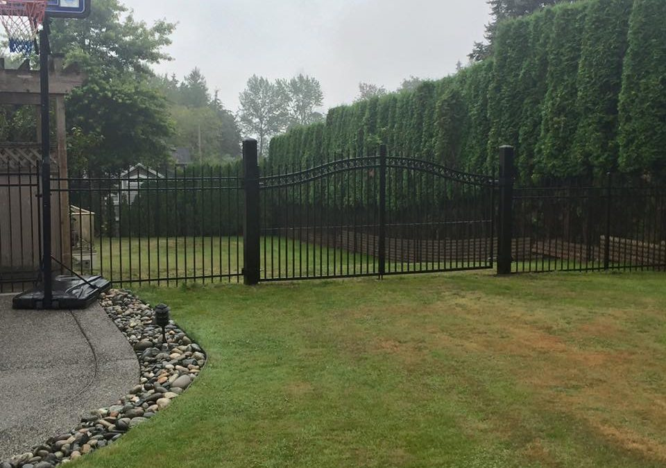 Ornamental fence and gate