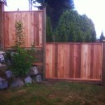 wood fence in Mission